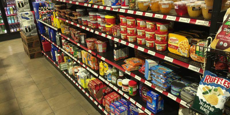 Groceries in Gardiner