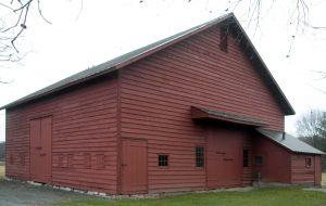 The restored Osborne barn.