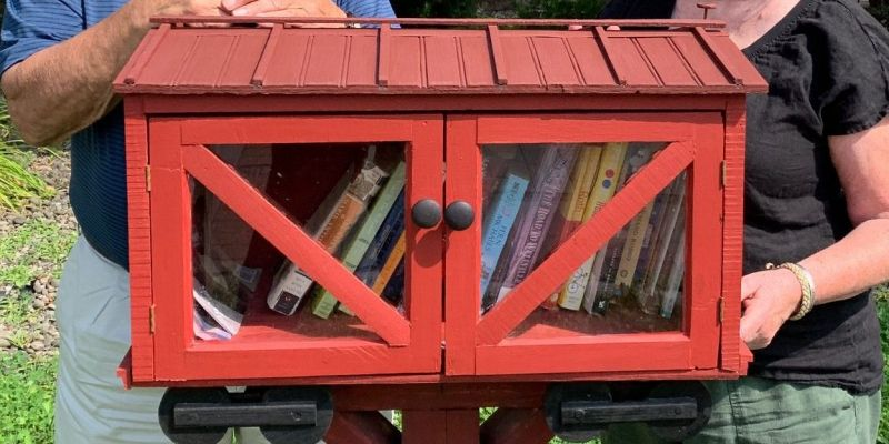 Little Library on the Rail Trail