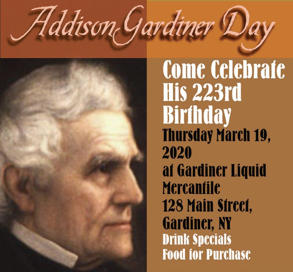 Addison Gardiner Day 2020